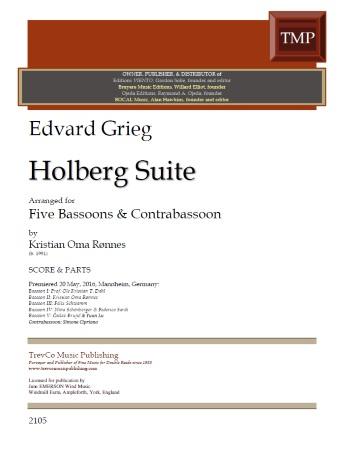 HOLBERG SUITE (score & parts)