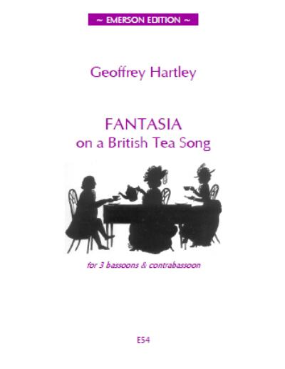 FANTASIA ON A BRITISH TEA SONG (score & parts)