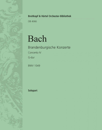 BRANDENBURG CONCERTO No.4 2nd solo flute part