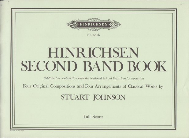 HINRICHSEN SECOND BAND BOOK Score