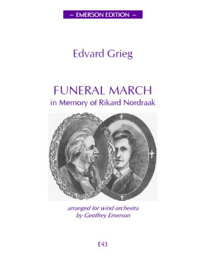 FUNERAL MARCH in Memory of Rikard Nordraak