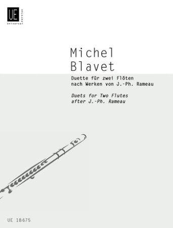 DUETS FOR 2 FLUTES after Rameau