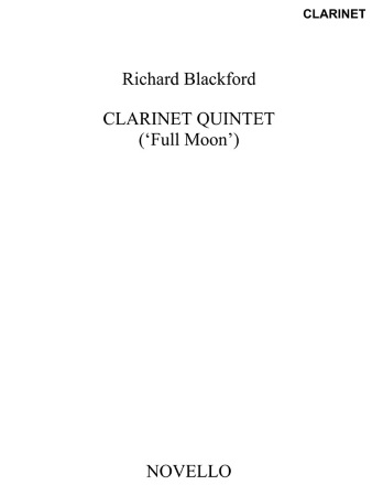 CLARINET QUINTET Full Moon (set of parts)