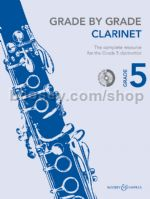 GRADE BY GRADE Clarinet Grade 5 + CD