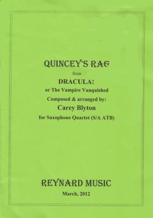 QUINCEY'S RAG (score & parts)