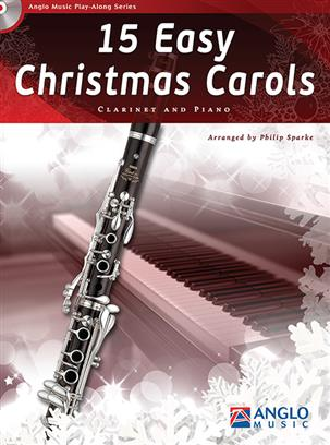 15 EASY CHRISTMAS CAROLS + CD