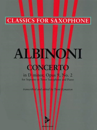 CONCERTO in D minor Op.9 No.2