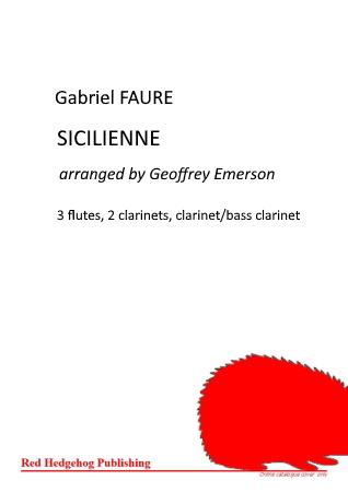 SICILIENNE (score & parts)