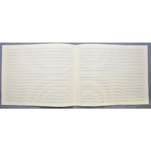 LANDSCAPE MANUSCRIPT PAPER 18 staves, Quarto size