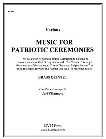 MUSIC FOR PATRIOTIC CEREMONIES