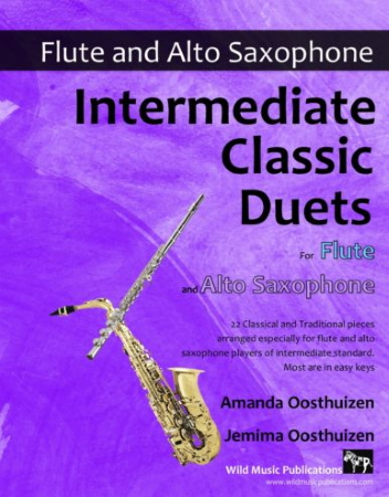 INTERMEDIATE CLASSIC DUETS for Flute & Alto Saxophone