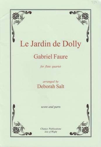 LE JARDIN DE DOLLY (score & parts)