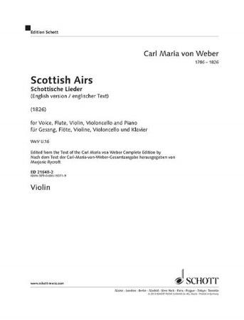 SCOTTISH AIRS violin