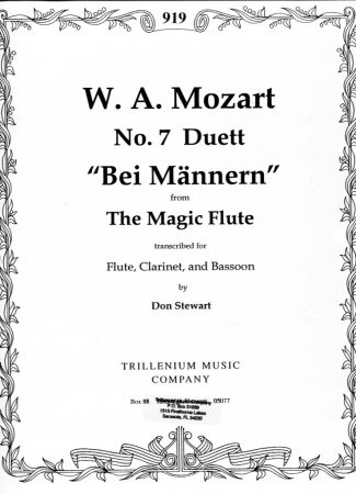 No.7 DUETT from 'The Magic Flute'