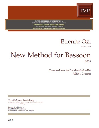 NEW METHOD FOR BASSOON