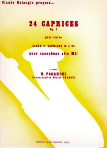 24 CAPRICES Op.1 Volume 2