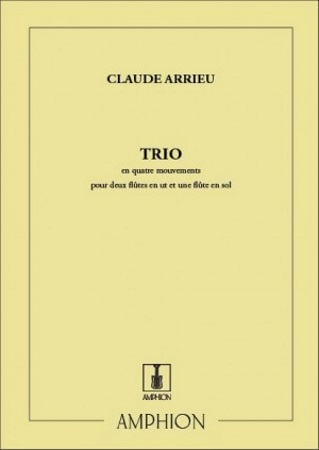 TRIO en Quatre Mouvements (score & parts)