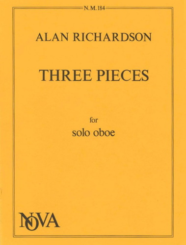 THREE PIECES for Solo Oboe