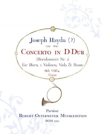 CONCERTO No.2 in D major Hob. VIId:4 (score)