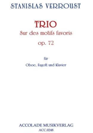 TRIO Sur des Motifs Favoris Op.72