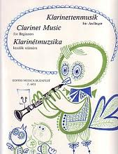 CLARINET MUSIC FOR BEGINNERS Book 1