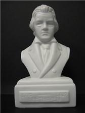 COMPOSER BUST Beethoven (Porcelain)