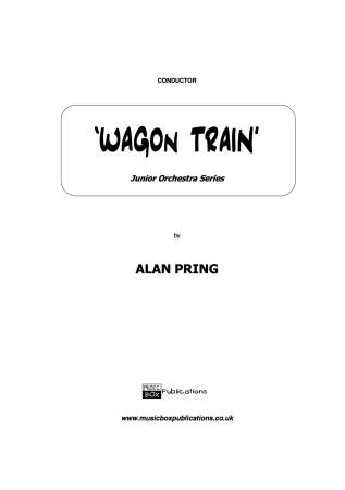 WAGON TRAIN (score & parts)