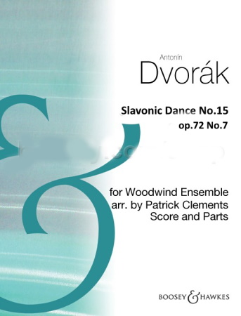 SLAVONIC DANCE No.15 Op.72 No.7 (score & parts)