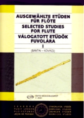 SELECTED STUDIES FOR FLUTE Volume 1