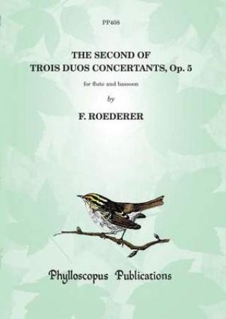 TROIS DUOS CONCERTANTS Op.5 No.2 (score & parts)