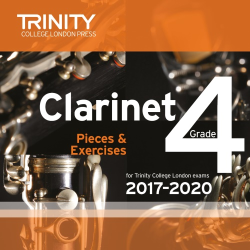 CLARINET PIECES 2017-2020 Grade 4 CD