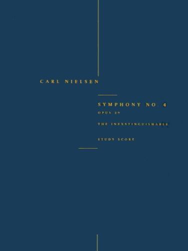 SYMPHONY No.4, Op.29, The Inextinguishable (miniature score)