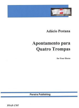 APONTAMENTO PARA QUATRO TROMPAS (score & parts)
