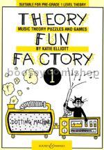 THEORY FUN FACTORY Book 1 (pre-grade 1)