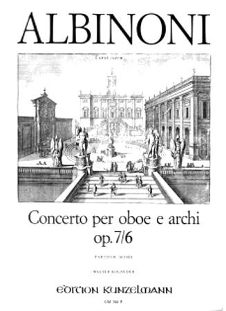 CONCERTO in D Op.7 No.6 - score