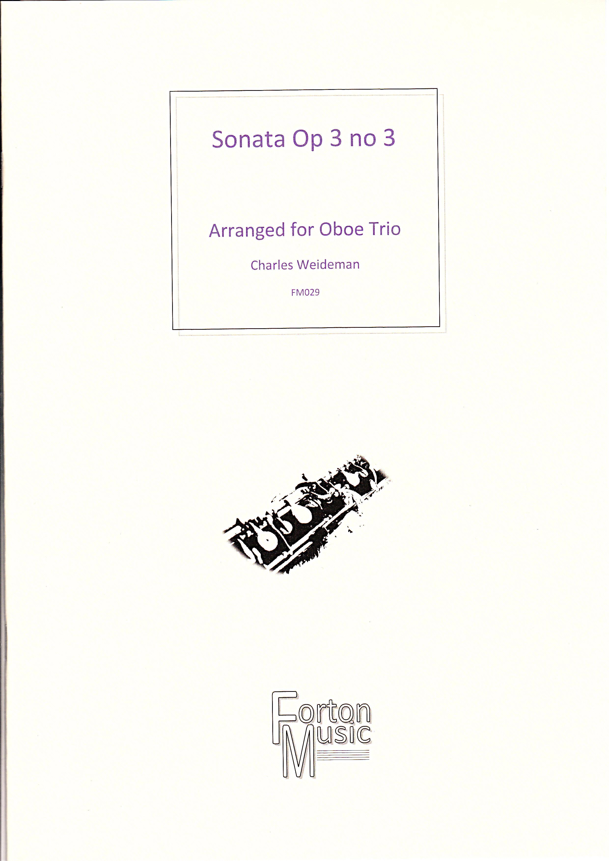 SONATA Op.3 No.3
