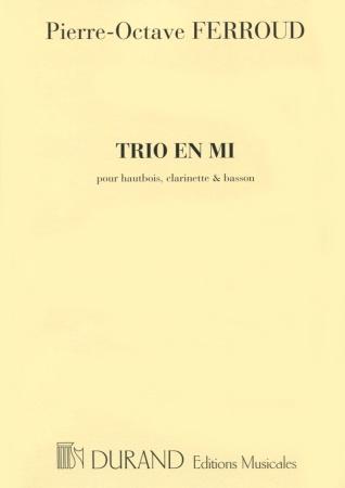 TRIO in E major (miniature score)