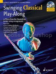 SWINGING CLASSICAL PLAYALONG + CD