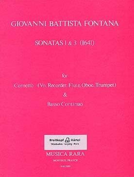 SONATAS 1 and 3