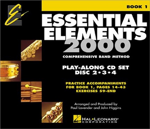 ESSENTIAL ELEMENTS CDs for Book 2 (all intruments)