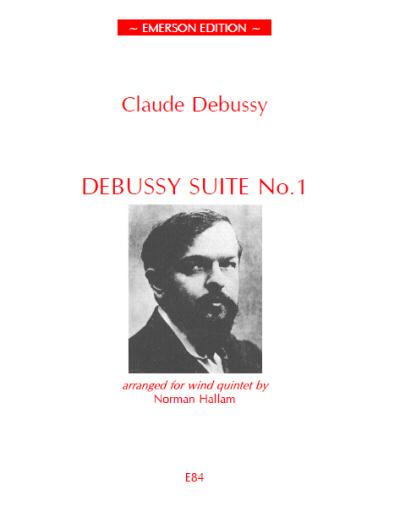 DEBUSSY SUITE No.1 (set of parts)