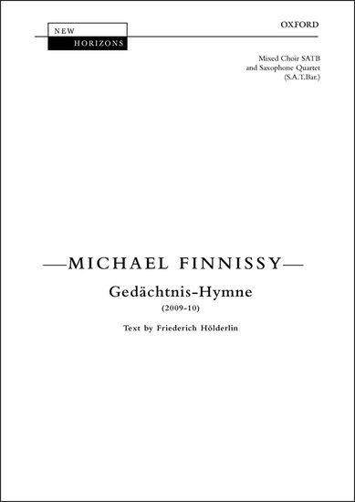 GEDACHTNIS-HYMNE Performing Score