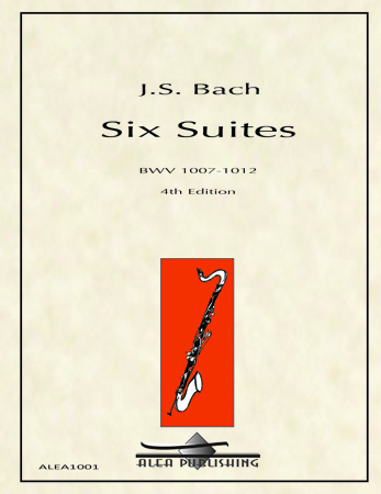 SIX SUITES BWV 1007-1012