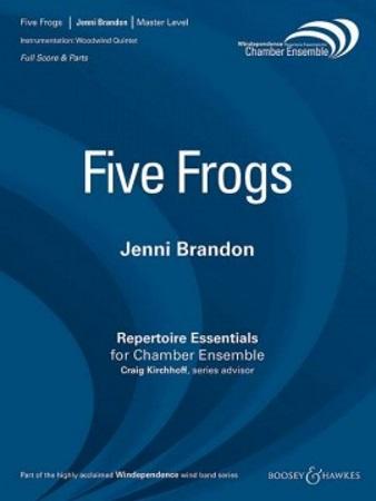 FIVE FROGS (score & parts)