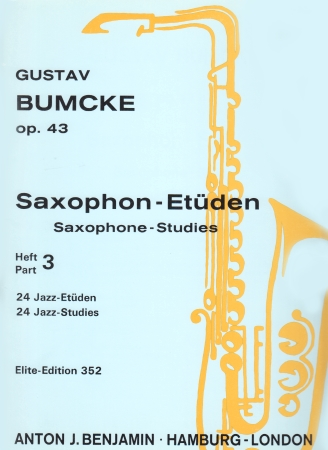 SAXOPHONE STUDIES Op.43 Part 3: 24 Jazz Studies