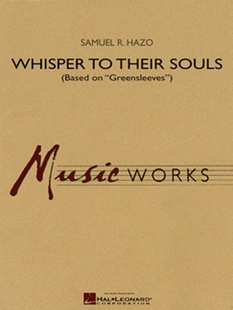 WHISPER TO THEIR SOULS (score & parts)