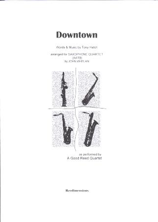 DOWNTOWN (score & parts)