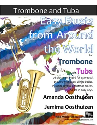 EASY DUETS FROM AROUND THE WORLD for Trombone & Tuba