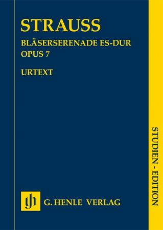 WIND SERENADE in Eb major Op.7 (score)