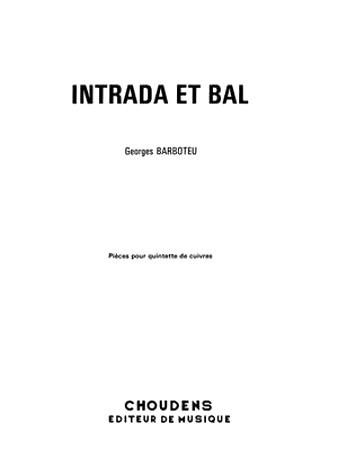 INTRADA ET BAL